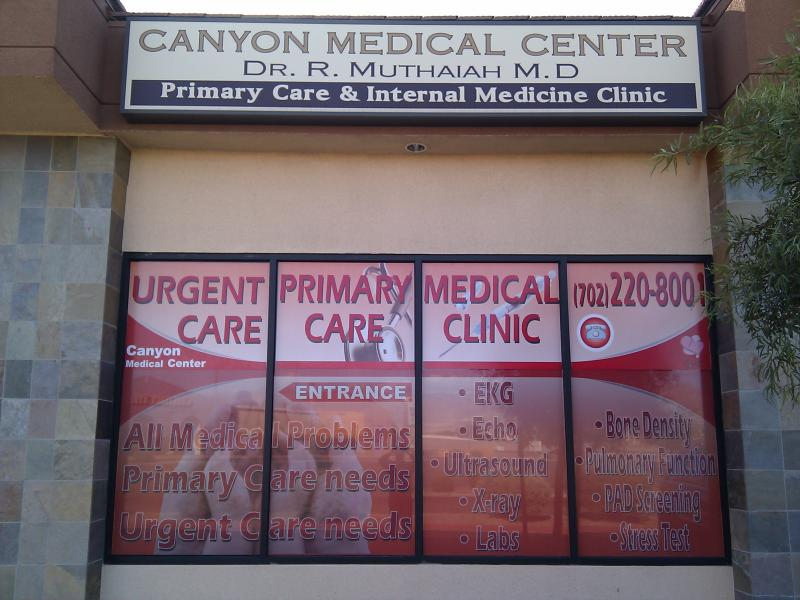 LAS VEGAS DOCTORS PHYSICIANS - Urgent Care Primary Care Location - LAS VEGAS NV